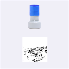 Zhangye Danxia Rubber Round Stamps (small) by trendistuff