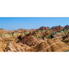 Zhangye Danxia You Are Invited 3d Greeting Card (8x4)  by trendistuff