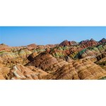 ZHANGYE DANXIA SORRY 3D Greeting Card (8x4)  Front