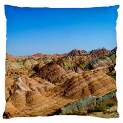 Zhangye Danxia Standard Flano Cushion Cases (two Sides)  by trendistuff