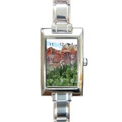Upper Emerald Trail Rectangle Italian Charm Watches