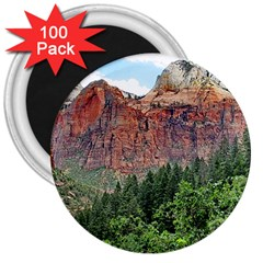 Upper Emerald Trail 3  Magnets (100 Pack) by trendistuff