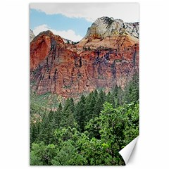 Upper Emerald Trail Canvas 24  X 36  by trendistuff
