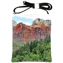 UPPER EMERALD TRAIL Shoulder Sling Bags by trendistuff