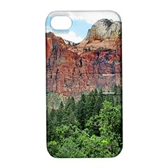 Upper Emerald Trail Apple Iphone 4/4s Hardshell Case With Stand by trendistuff