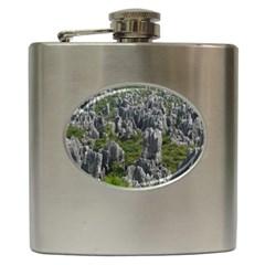 Stone Forest 1 Hip Flask (6 Oz) by trendistuff