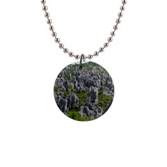 Stone Forest 1 Button Necklaces by trendistuff
