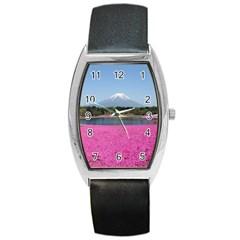 Shibazakura Barrel Metal Watches by trendistuff