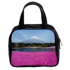 Shibazakura Classic Handbags (2 Sides) by trendistuff