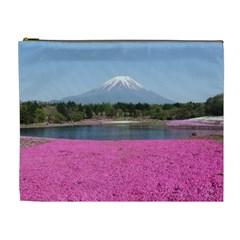 Shibazakura Cosmetic Bag (xl) by trendistuff