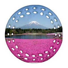Shibazakura Round Filigree Ornament (2side) by trendistuff