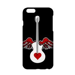 Flying Heart Guitar Apple Iphone 6/6s Hardshell Case