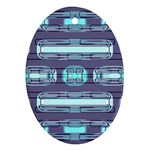 Modern Pattern Factory 01 Ornament (Oval)