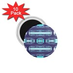 Modern Pattern Factory 01 1.75  Magnets (10 pack)