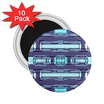 Modern Pattern Factory 01 2.25  Magnets (10 pack)