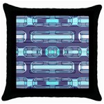Modern Pattern Factory 01 Throw Pillow Cases (Black)