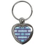 Modern Pattern Factory 01 Key Chains (Heart)