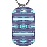 Modern Pattern Factory 01 Dog Tag (Two Sides)