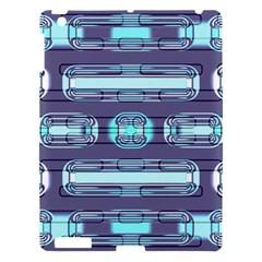 Modern Pattern Factory 01 Apple Ipad 3/4 Hardshell Case by MoreColorsinLife