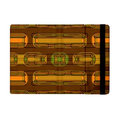 Modern Pattern Factory 01b Apple Ipad Mini Flip Case by MoreColorsinLife