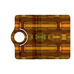 Modern Pattern Factory 01b Kindle Fire Hd (2013) Flip 360 Case by MoreColorsinLife