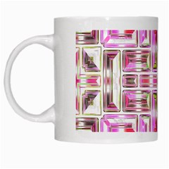 Modern Pattern Factory 01 White Mugs by MoreColorsinLife