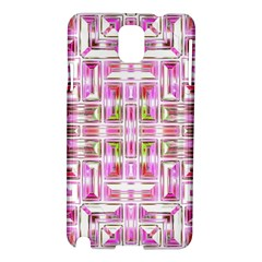 Modern Pattern Factory 01 Samsung Galaxy Note 3 N9005 Hardshell Case by MoreColorsinLife