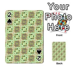 Modern Pattern Factory 04 Playing Cards 54 Designs  by MoreColorsinLife