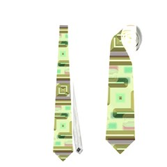 Modern Pattern Factory 04 Neckties (two Side)  by MoreColorsinLife