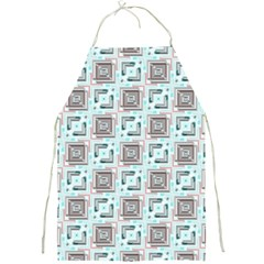 Modern Pattern Factory 04b Full Print Aprons by MoreColorsinLife
