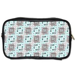 Modern Pattern Factory 04b Toiletries Bags by MoreColorsinLife