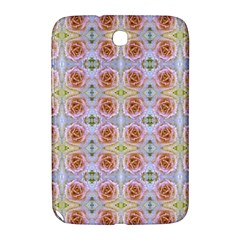 Pink Light Blue Pastel Flowers Samsung Galaxy Note 8 0 N5100 Hardshell Case