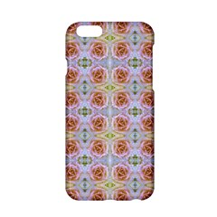 Pink Light Blue Pastel Flowers Apple Iphone 6/6s Hardshell Case