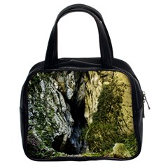 Mountain Path Classic Handbags (2 Sides) by trendistuff