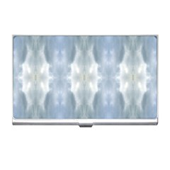 Ice Crystals Abstract Pattern Business Card Holders