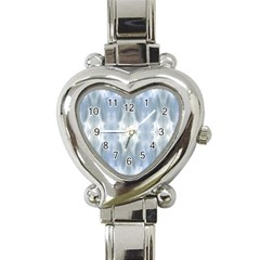 Ice Crystals Abstract Pattern Heart Italian Charm Watch by Costasonlineshop