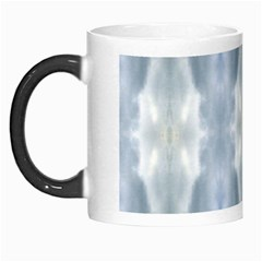 Ice Crystals Abstract Pattern Morph Mugs by Costasonlineshop