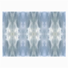 Ice Crystals Abstract Pattern Large Glasses Cloth by Costasonlineshop