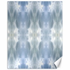 Ice Crystals Abstract Pattern Canvas 11  x 14   by Costasonlineshop