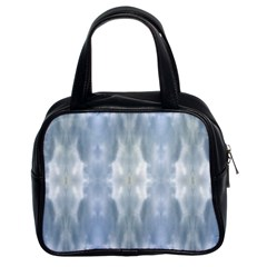 Ice Crystals Abstract Pattern Classic Handbags (2 Sides) by Costasonlineshop