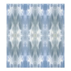 Ice Crystals Abstract Pattern Shower Curtain 66  X 72  (large)  by Costasonlineshop
