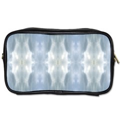 Ice Crystals Abstract Pattern Toiletries Bags by Costasonlineshop