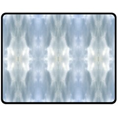 Ice Crystals Abstract Pattern Fleece Blanket (medium)
