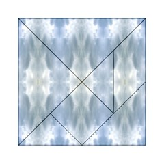 Ice Crystals Abstract Pattern Acrylic Tangram Puzzle (6  X 6 )