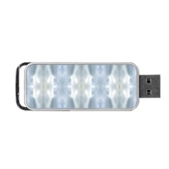 Ice Crystals Abstract Pattern Portable Usb Flash (one Side)