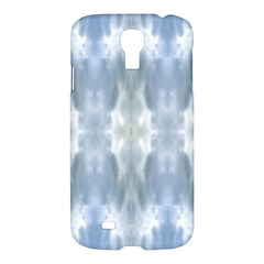 Ice Crystals Abstract Pattern Samsung Galaxy S4 I9500/I9505 Hardshell Case by Costasonlineshop