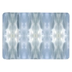 Ice Crystals Abstract Pattern Samsung Galaxy Tab 8 9  P7300 Flip Case by Costasonlineshop