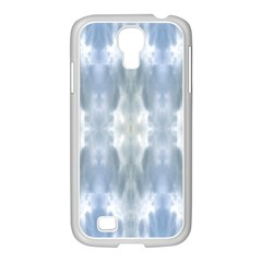 Ice Crystals Abstract Pattern Samsung Galaxy S4 I9500/ I9505 Case (white) by Costasonlineshop