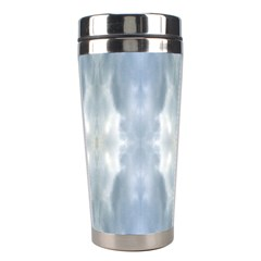 Ice Crystals Abstract Pattern Stainless Steel Travel Tumblers