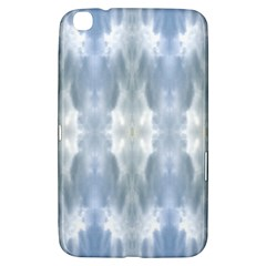 Ice Crystals Abstract Pattern Samsung Galaxy Tab 3 (8 ) T3100 Hardshell Case  by Costasonlineshop